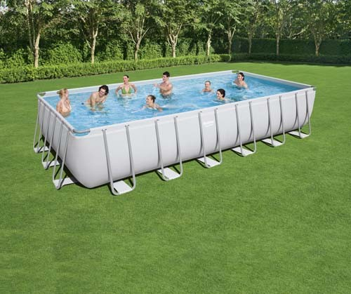 Power Steel Rectangular Pool Set 56475 applicable for all