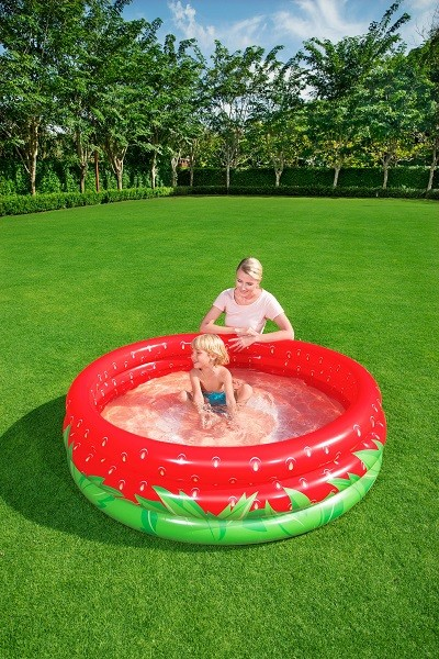 Bestway Sweet Strawberry Pool 51145 for child over 2+ ages