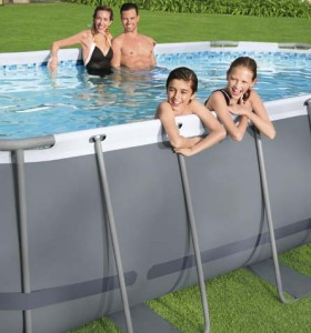 Power Steel Oval Pool Set 56620 applicable for all