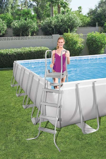 Power Steel Rectangular Pool Set 56623 applicable for all