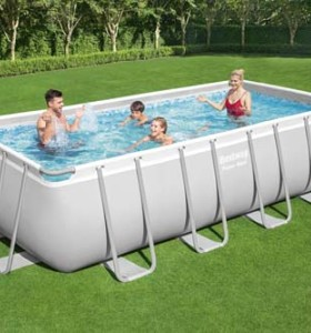 Power Steel Rectangular Pool Set 56671 applicable for all
