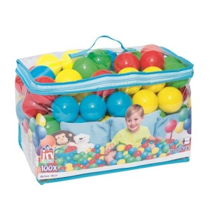 Up, In & Over Splash & Play 100 Play Balls 52027 for child over 1+ ages