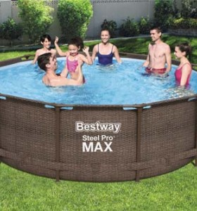 Steel Pro MAX Pool Set 56709 applicable for all