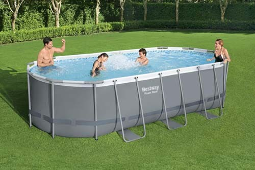 Power Steel Oval Pool Set 56710 applicable for all