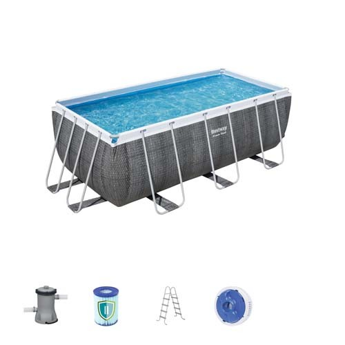 Power Steel Rectangular Pool Set 56722 applicable for all