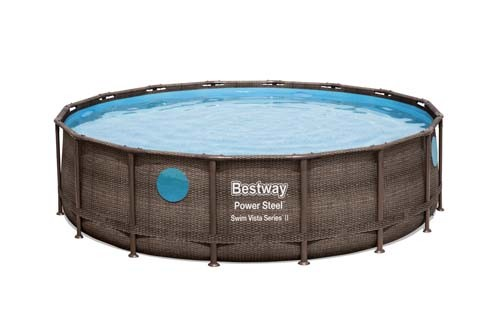 Power Steel Swim Vista Series Pool Set 56977 applicable for all