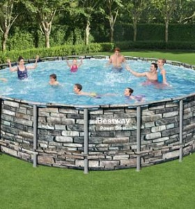 Power Steel Pool Set 56886 applicable for all