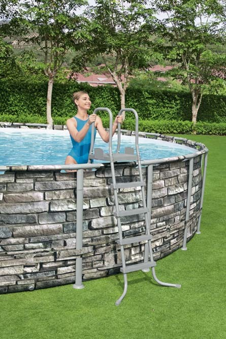 Power Steel Pool Set 56889 applicable for all