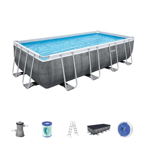 Power Steel Rectangular Pool Set 56996 applicable for all