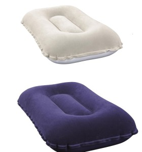 Hydro-Force Flocked Air Camp Pillow 67121 applicable for all