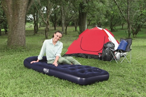 Hydro-Force Airbed Jr.Twin Built-in Foot Pump 67223 applicable for all