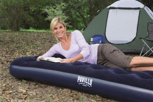Hydro-Force Airbed Queen Built-in Foot Pump 67226 applicable for all