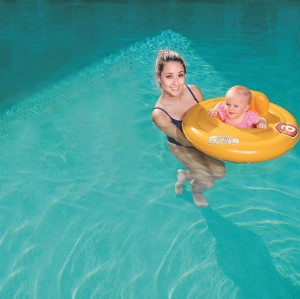 Swim Safe Triple Ring Baby Seat Step A 32096 for child ages 0-1