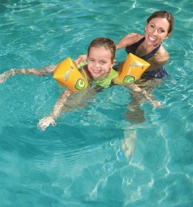 Swim Safe Jr Armbands Step C 32110 for child ages 5-12
