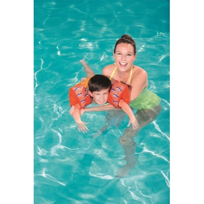 Swim Safe  Boys'/Girls' Fabric Arm Floats (S/M) 32182 for child ages 1-3