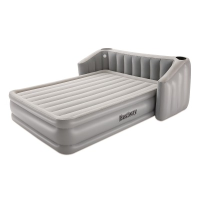 Bestway Tritech Fullsleep Wingback Airbed Queen Headboard Built-in AC Pump 67620 applicable for all