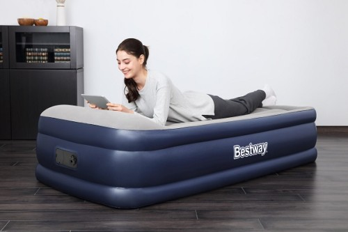 Bestway Tritech Airbed Queen Built-in AC Pump 67630 applicable for all