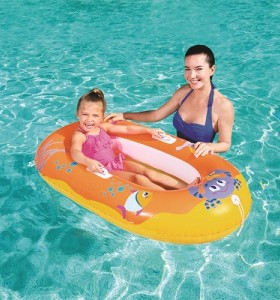 Bestway Happy Crustacean Junior Raft 34009 for child ages  3-6