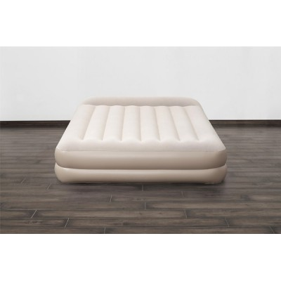 Bestway Tritech Airbed Queen Built-in AC Pump 67696 applicable for all