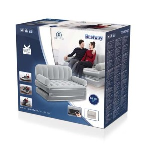Bestway Multi-Max 3-in-1 Air Couch with Built-in AC Pump 75079 applicable for all
