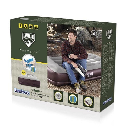 Pavillo Tritech Airbed Twin 67698 applicable for all