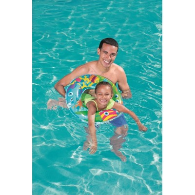 Bestway Designer Swim Ring  36013 for child ages  3-6