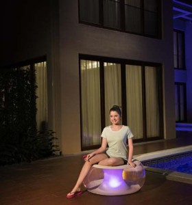 Bestway Poolsphere LED Air Chair 75085 applicable for all