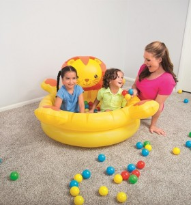 Up, In & Over  Lion Ball Pit 52261 for child over 2+ ages