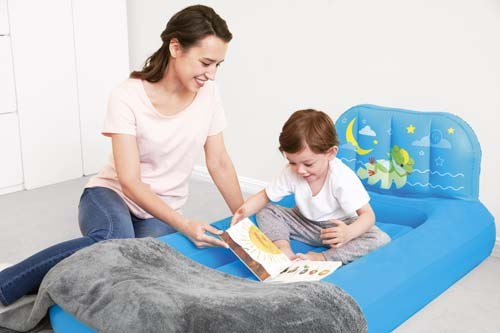 Fisher-Price Dream Glimmers Comfort Airbed 93546 for child ages 2-4