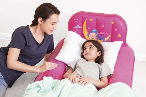 Fisher-Price Dream Glimmers Comfort Airbed 93548 for child ages 2-4