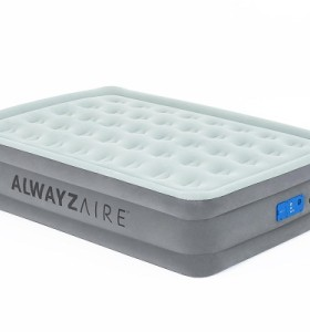 Bestway AlwayzAire Airbed Queen Built-in Comfort Pump 67706 applicable for all