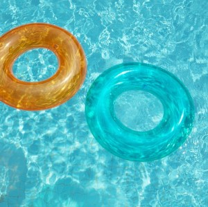 Bestway Transparent Swim Tube 36022 for child ages  3-6