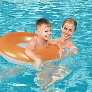 Bestway  Frosted Neon Swim Ring 36024 for child ages  3-6