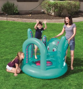 Up, In & Over Octopus Bouncer 52267 for child aged 3-6