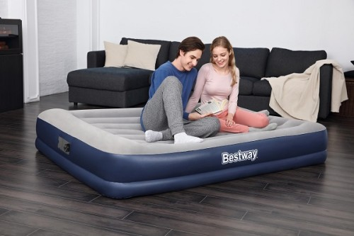 Bestway Tritech Airbed Queen Built-in AC Pump 67725 applicable for all