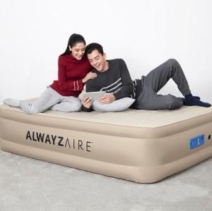 Bestway AlwayzAire Fortech Airbed Queen Built-in Comfort Pump 69037 applicable for all