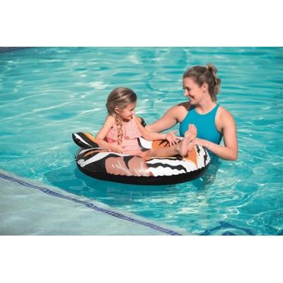 Bestway Croc/Tiger Predator Swim Ring 36122 for child ages 12+
