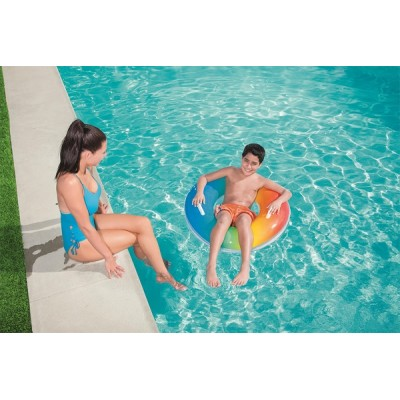 Bestway Rainbow Swim Ring 36126 for child ages 10+