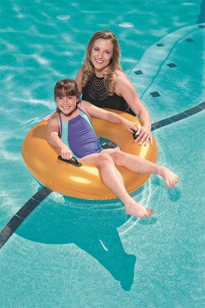 Bestway Gold Swim Ring 36127 for child ages 10+