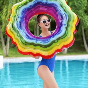 Bestway Rainbow Ribbon Tube 36163 for child ages 12+