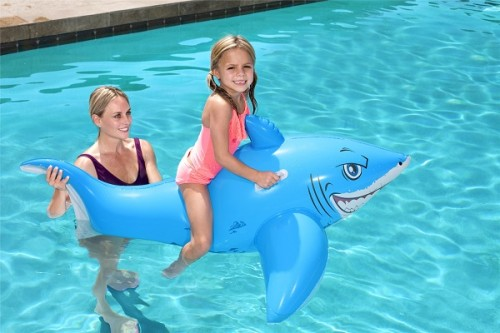 Bestway Great White Shark Ride-On 41032 for child ages 3+