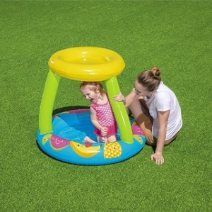 UV Careful Fruit Canopy Play Pool 52331 for child over 2+ ages