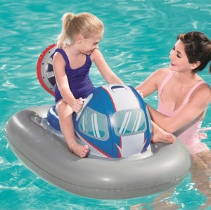 Bestway Galactic Battleship Ride-on 41115 for child ages 3+