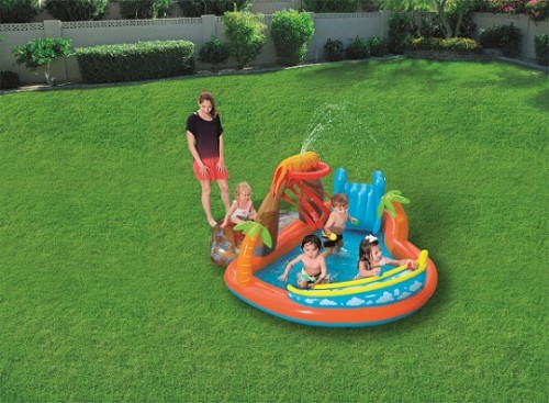 Bestway Lava Lagoon Play Center 53069 for child over 2+ ages