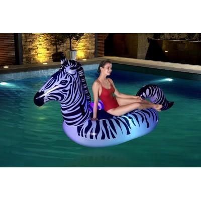 Bestway Lights 'n Stripes Zebra Float 41406 for child ages all