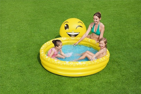 Bestways Summer Smiles Sprayer Pool 53081 for child over 2+ ages