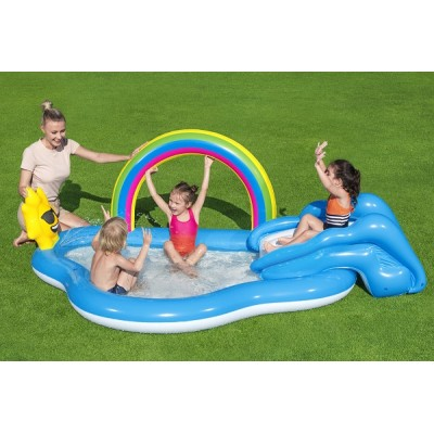 Bestways Rainbow N' Shine Play Center 53092 for child over 2+ ages