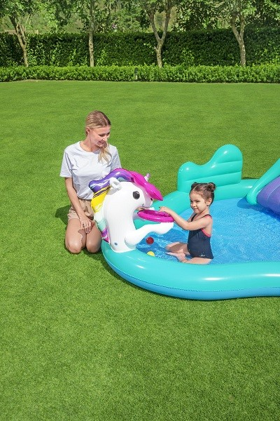 Bestways Magical Unicorn Carriage Play Center 53097 for child over 2+ ages