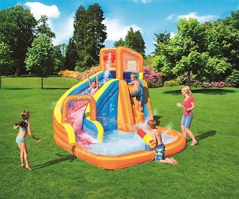 H2OGO! Turbo Splash Water Zone_Mega Water Park 53301 for child aged 5-10