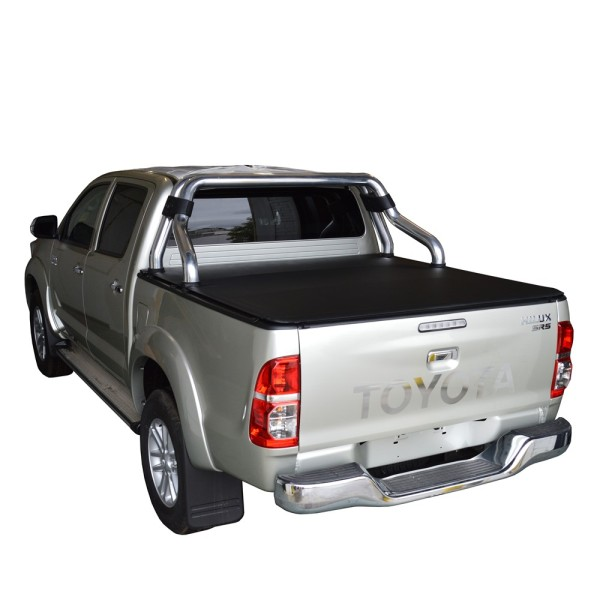 Toyota Soft Roll Up Tonneau Cover 05-14 Truck Bed Covers for TOYOTA HILUX VIGO